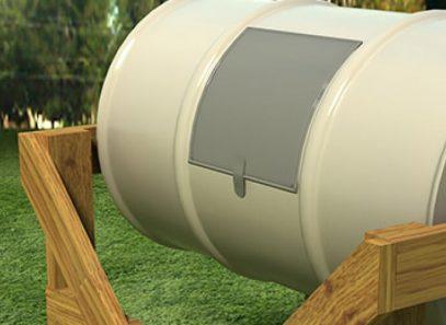 barrel-composter