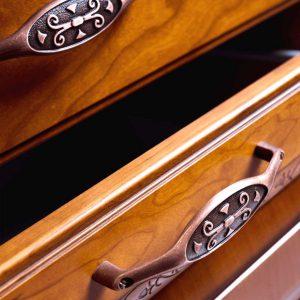 brown drawers