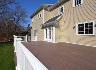Composite Deck in house