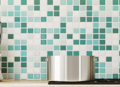 kitchen with tiles