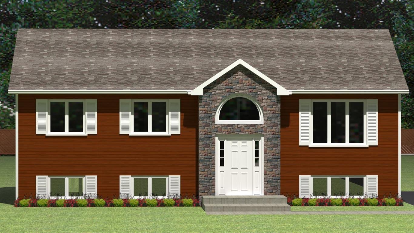 1251 house elevation