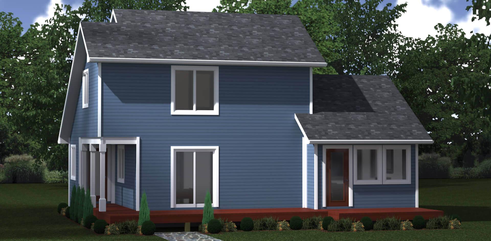 1342 house elevation
