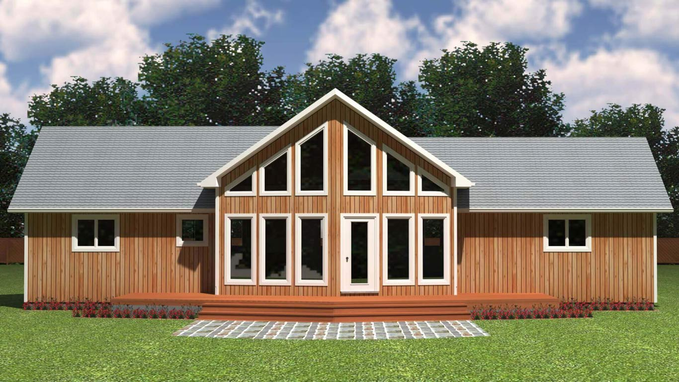 1450 house elevation