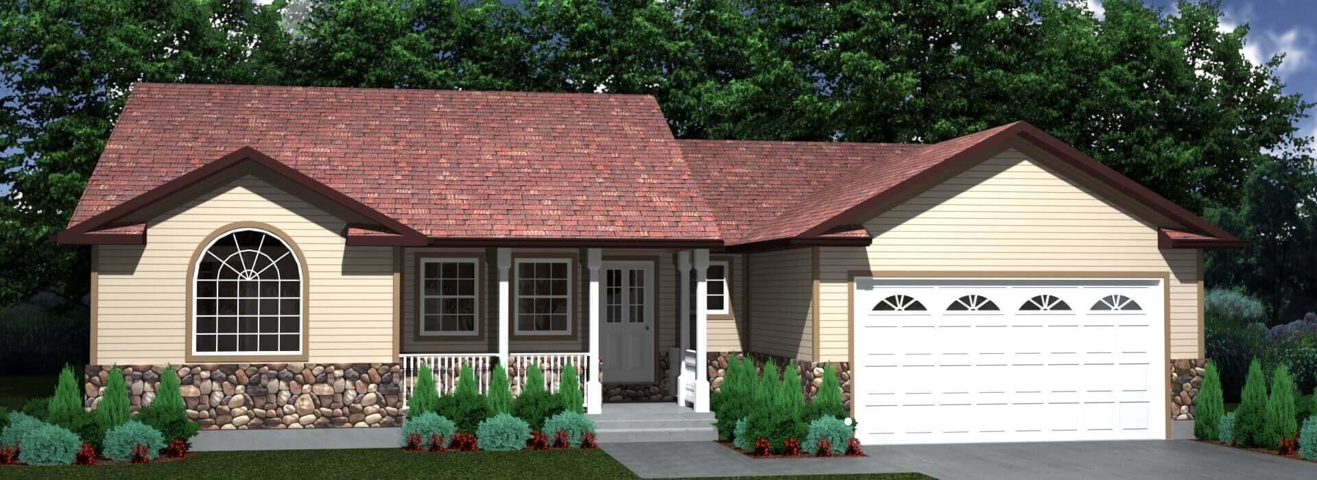 1454 house elevation