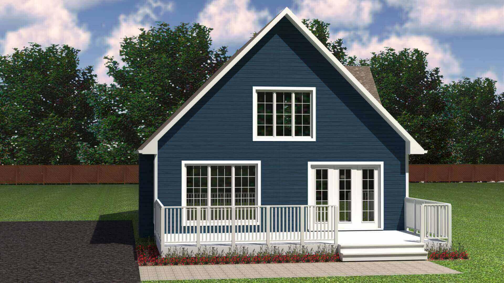 1479_cottage elevation