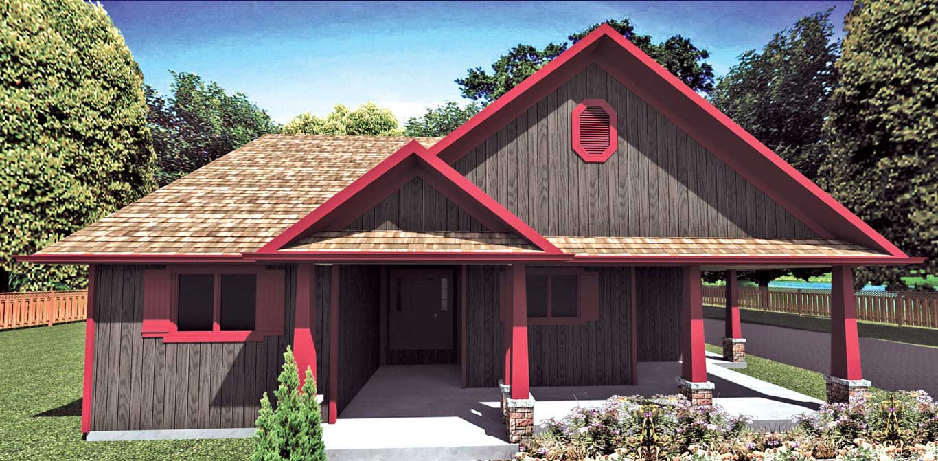 1501 house elevation