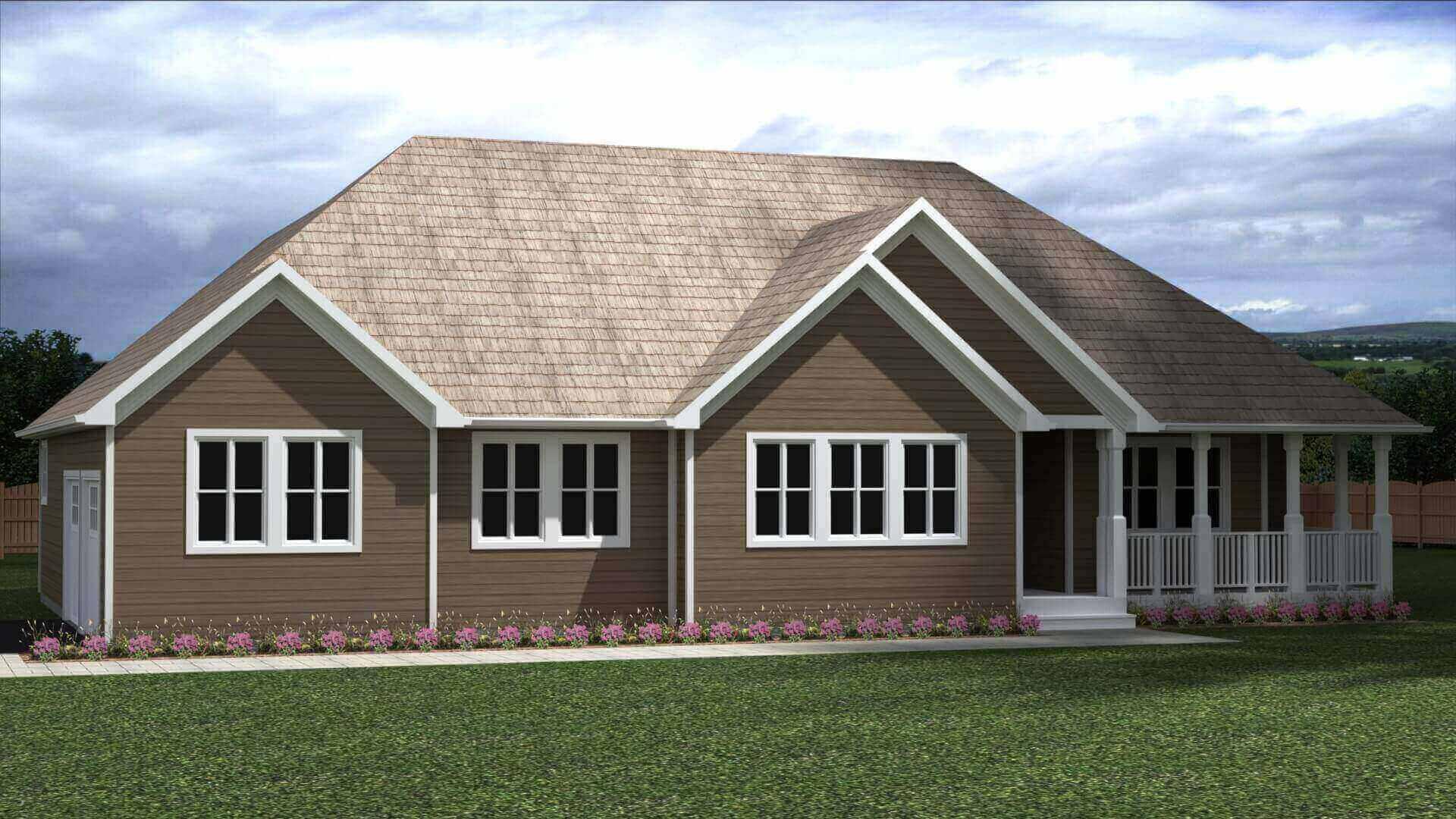 1523B house elevation