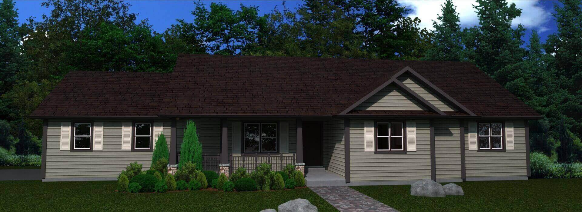 1523e_house elevation