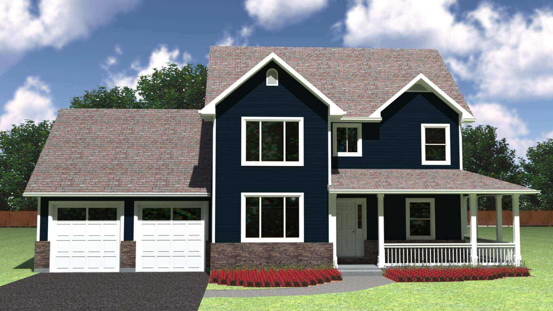 1649 house elevation