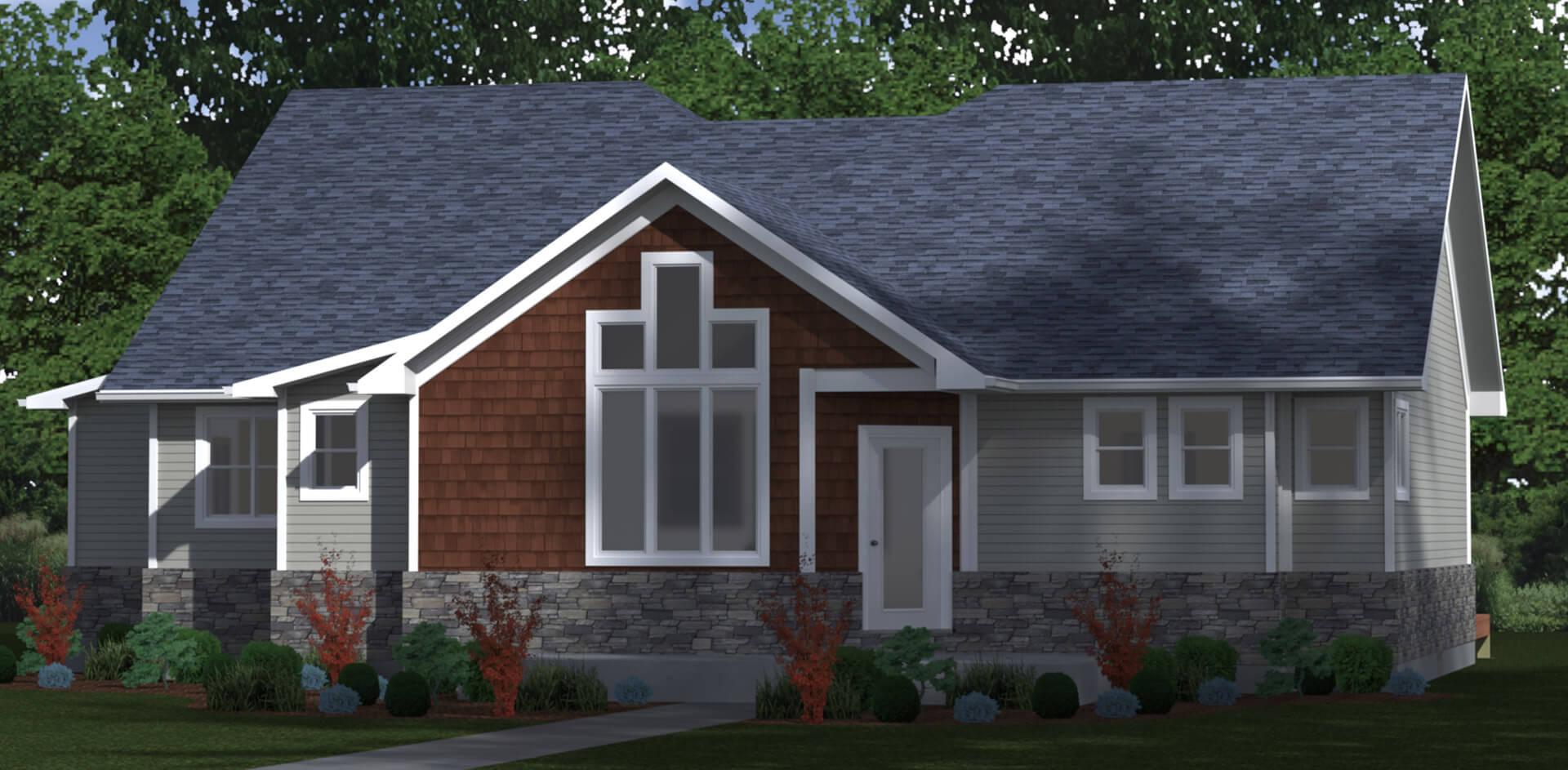 1822 house elevation