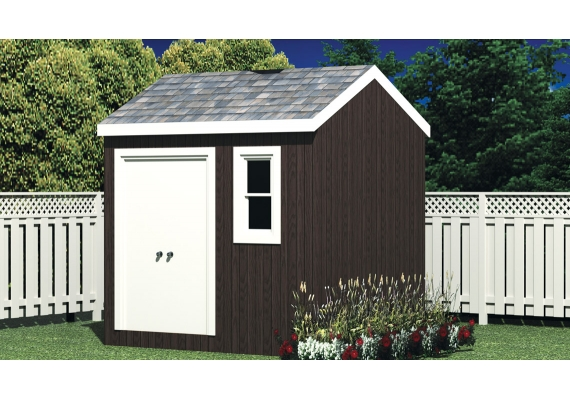 80 sq.ft. timber mart shed