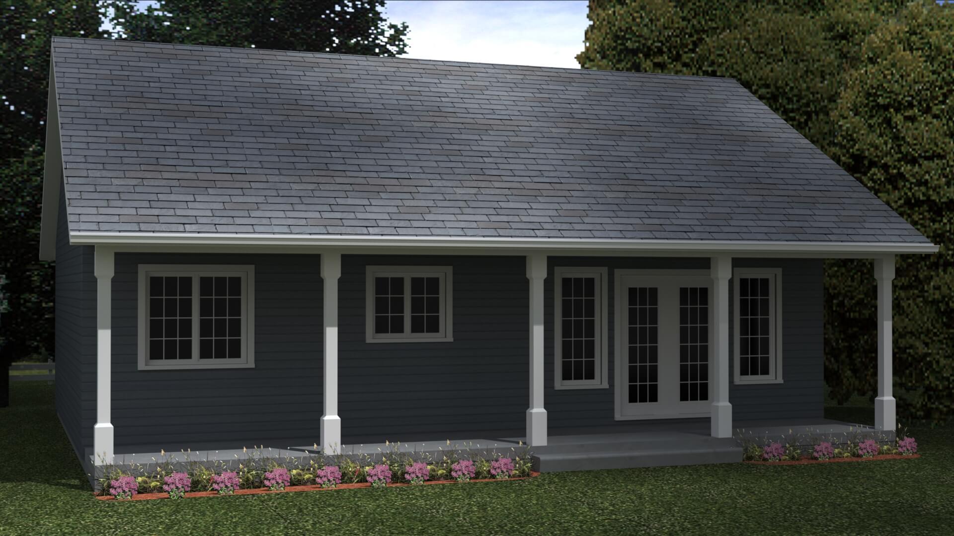 936 house exterior