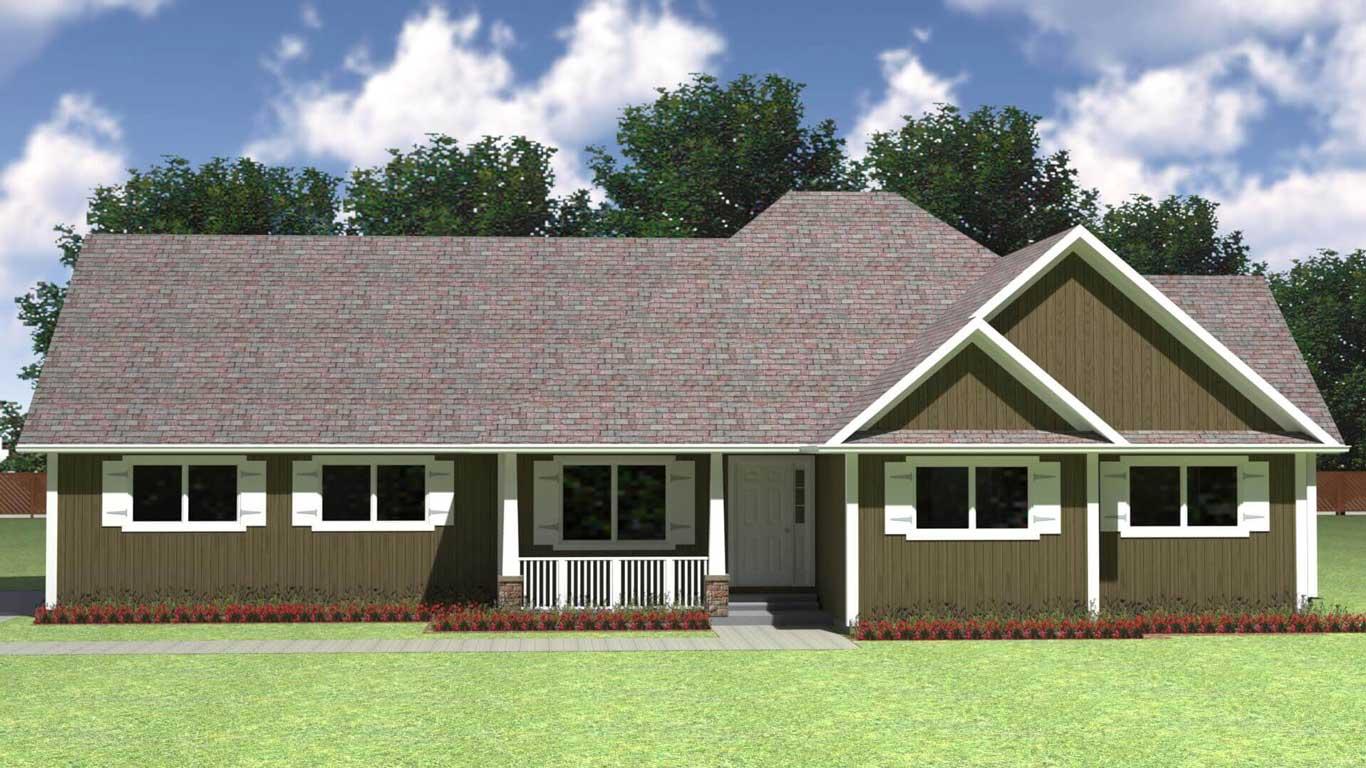 TBM1733 house elevation
