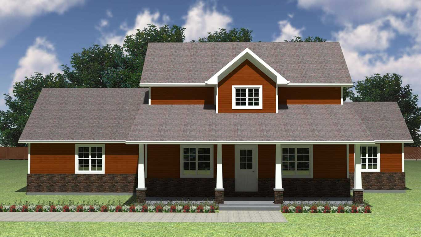 1671 tbm house elevation
