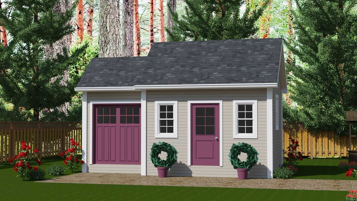 232 sq.ft. timber mart shed two rooms and entrances