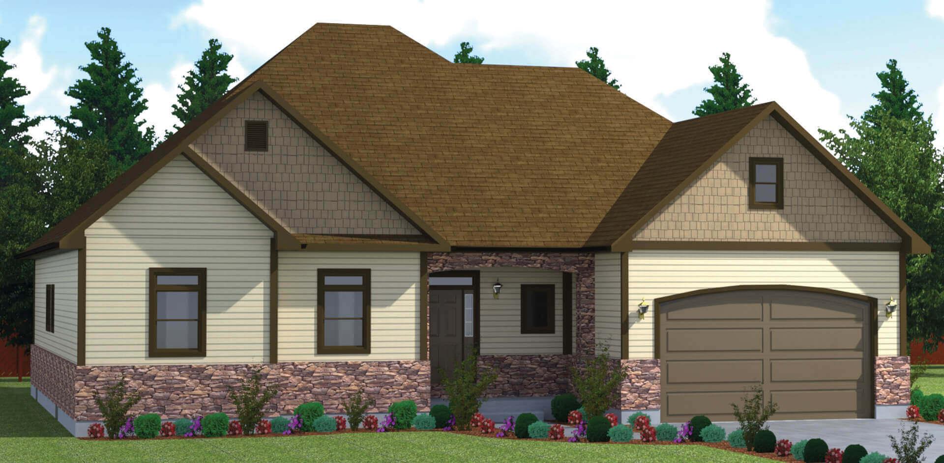 1819 house elevation