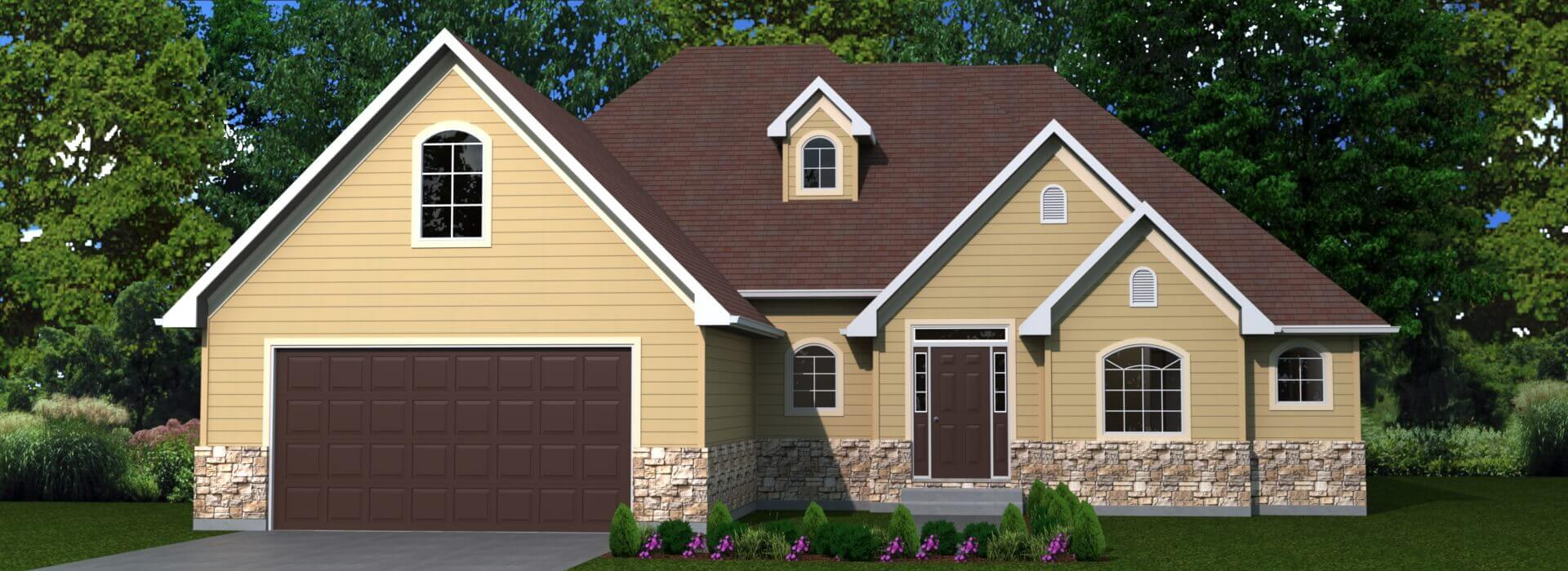 1995 house elevation