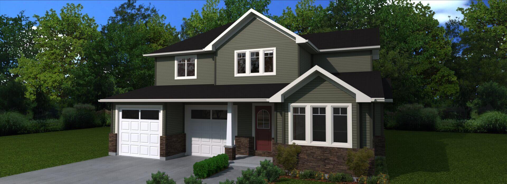 2105 house exterior