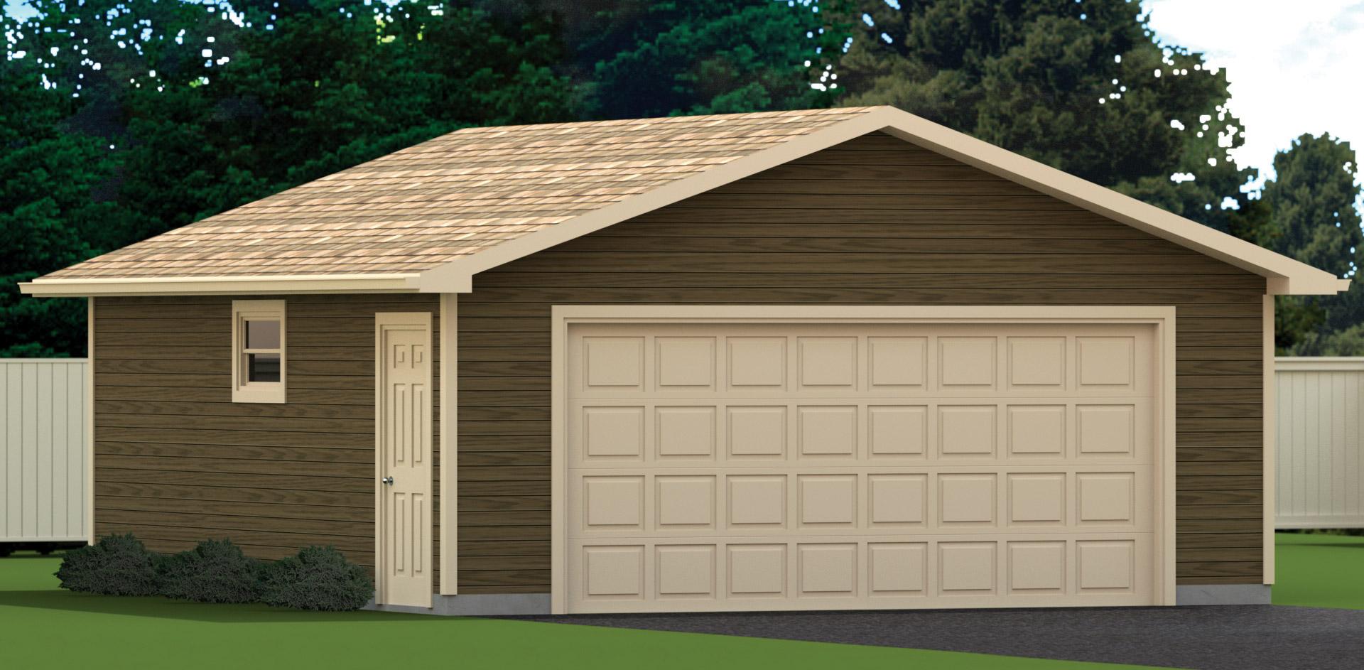 22 x 24 garage