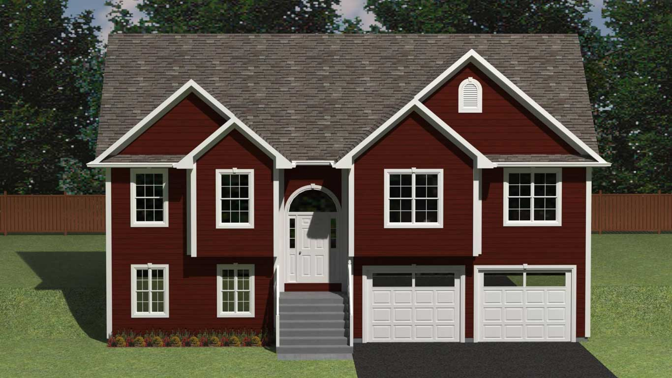 2399 sq.ft. timber mart house 4 bed 3 exterior render