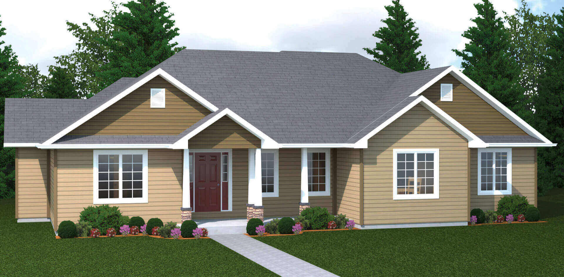 2436 plan elevation