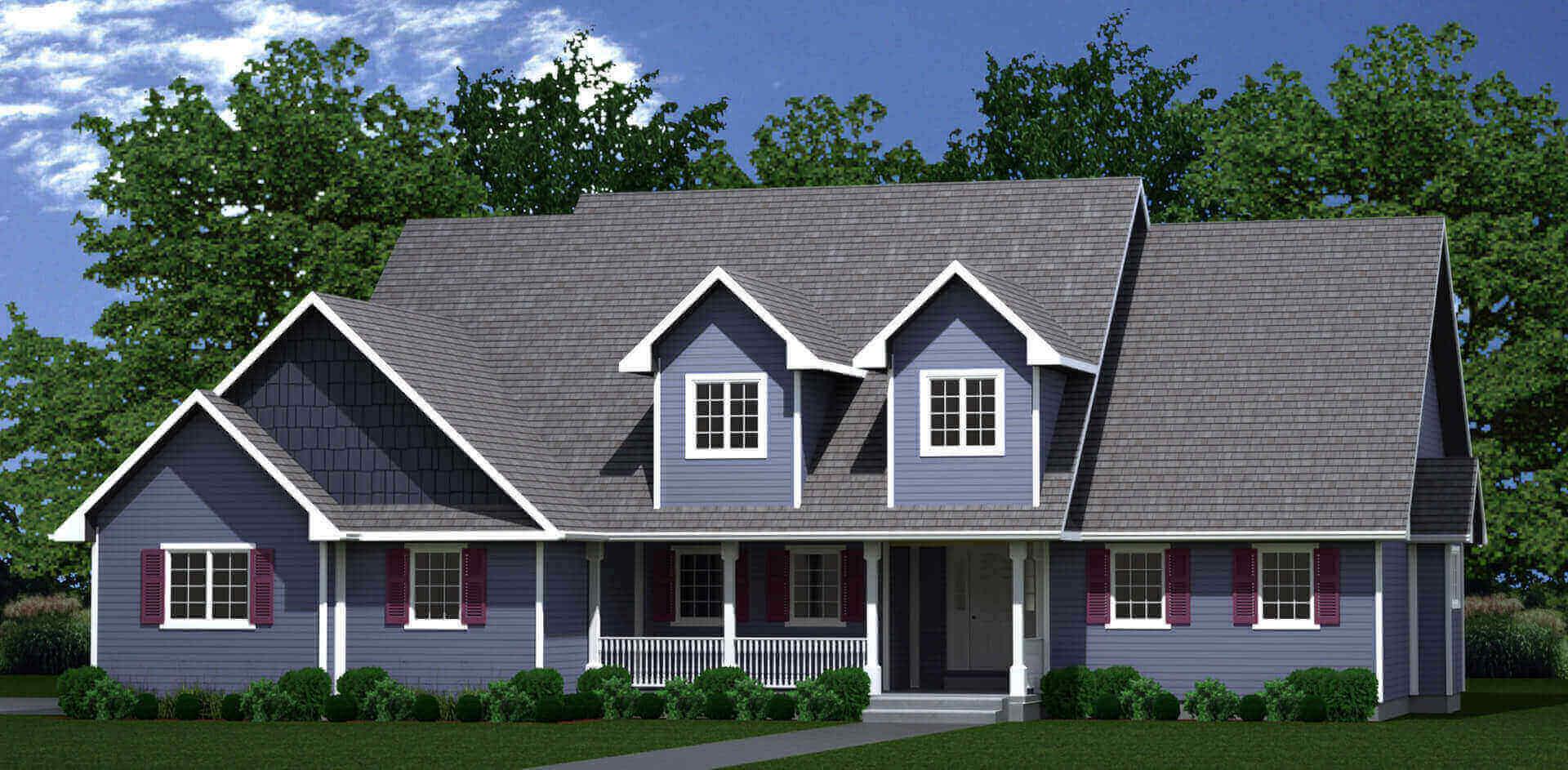 2446 house plan elevation