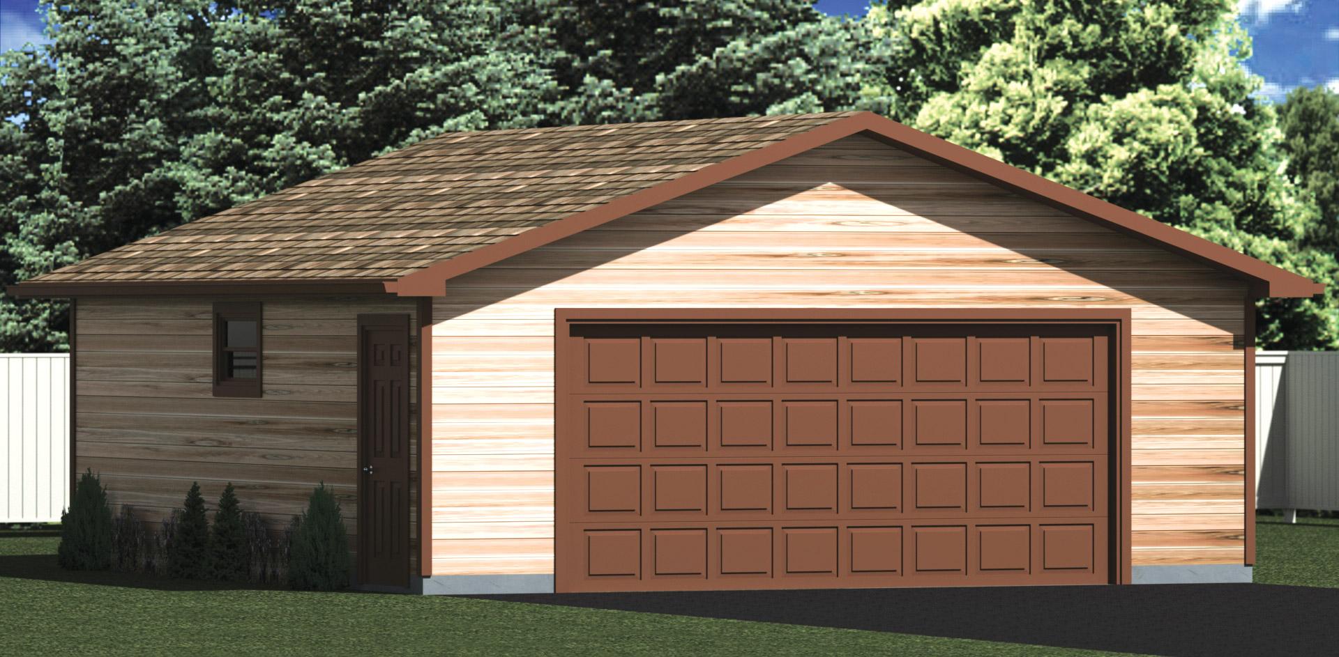 24x26 garage