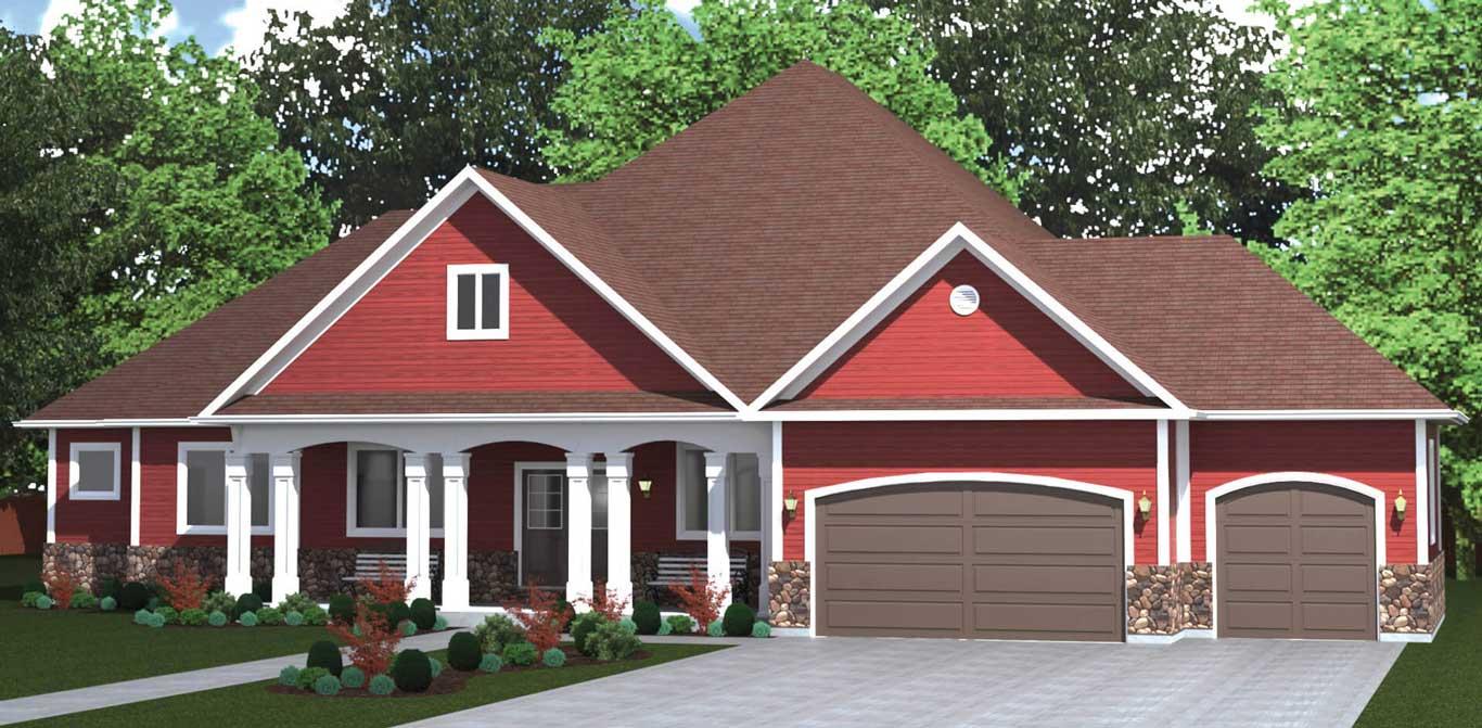 2950 house exterior