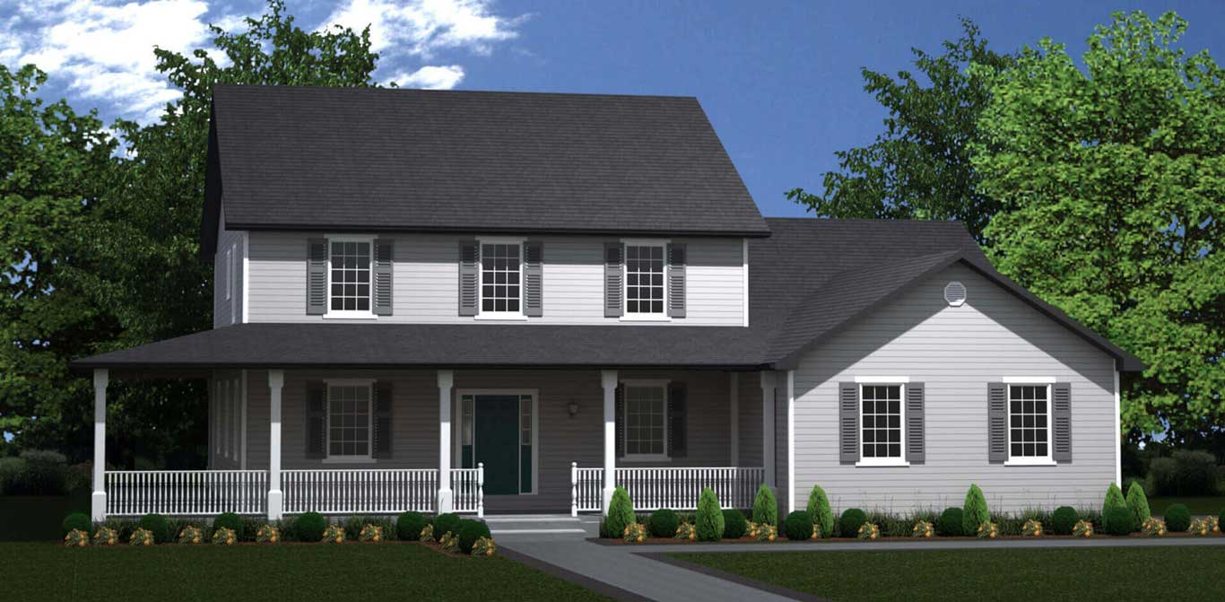 2988 sq.ft. timber mart house 4 bed 4 bath exterior render