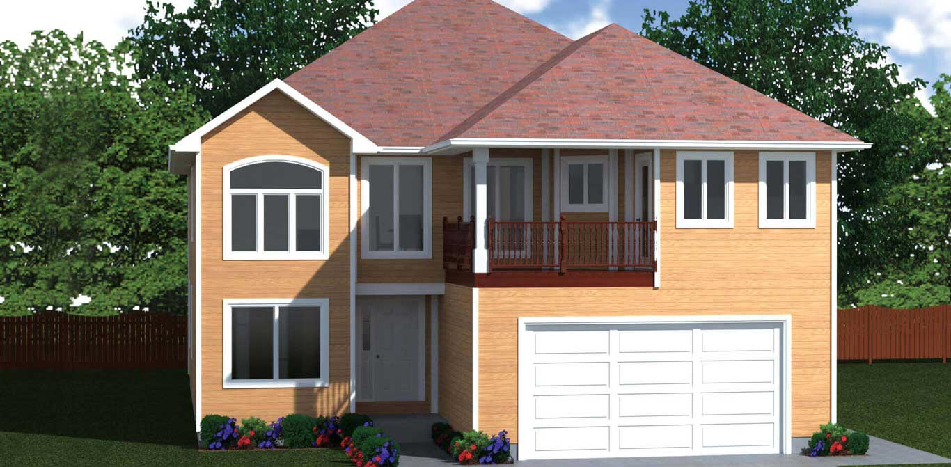 3200 sq.ft. timber mart house 5 bed 3 bath exterior rendering