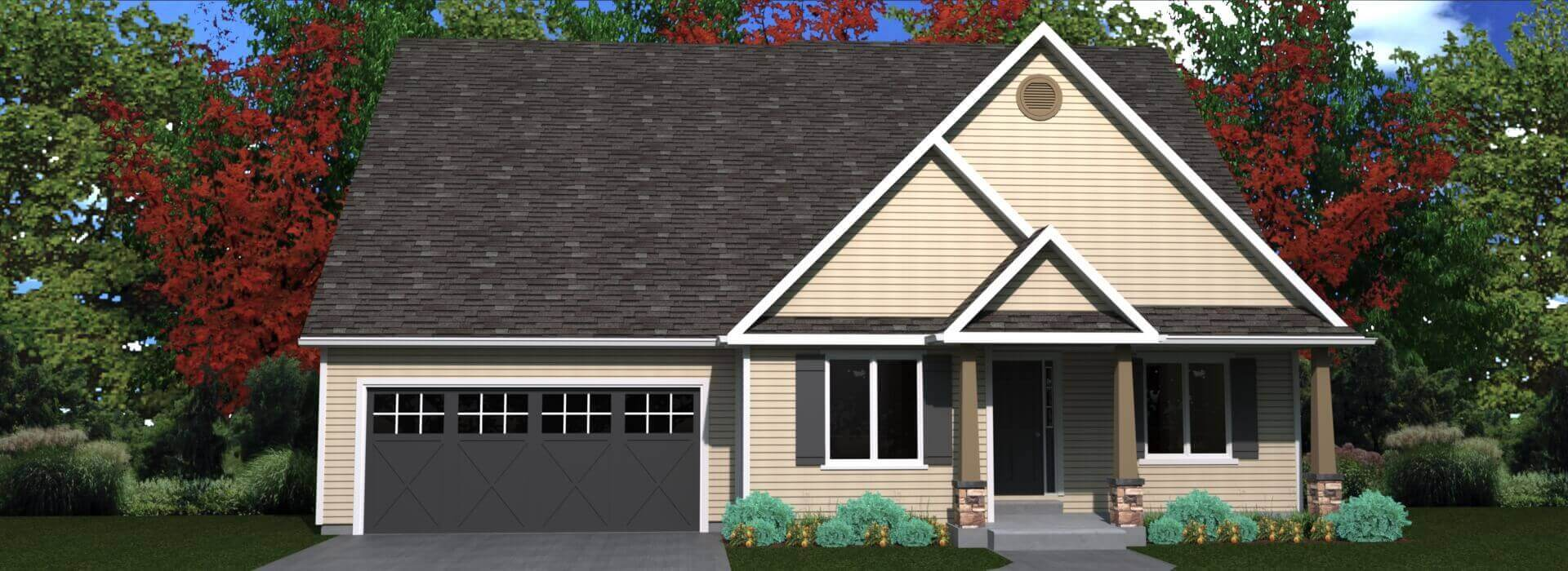 Exterior house look