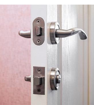 door lock with handle