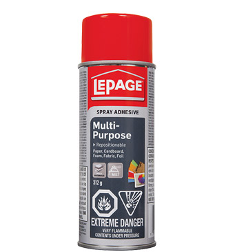 spray adhesive from lePage