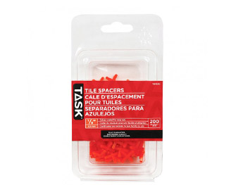 packet of tile spacer