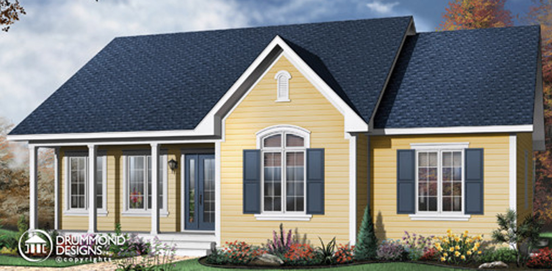 1378 sq.ft. timber mart house