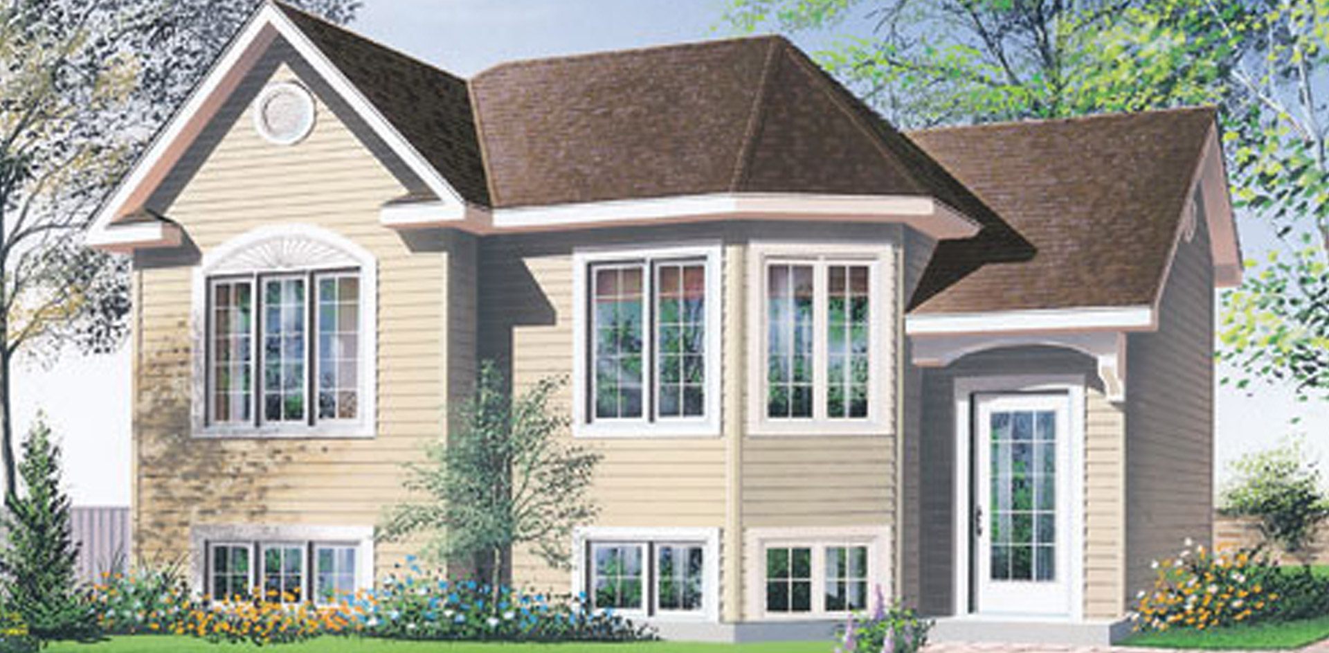 816 sq.ft. timber mart house
