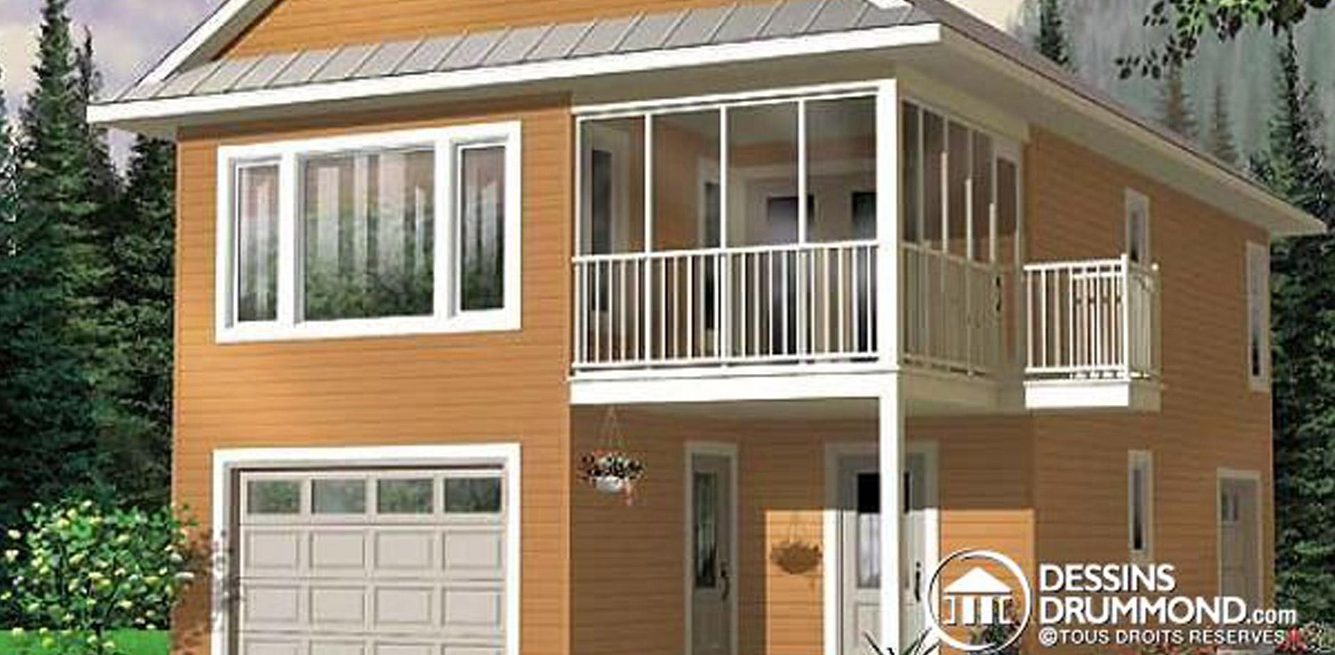 1080 sq.ft. timber mart garage apartment