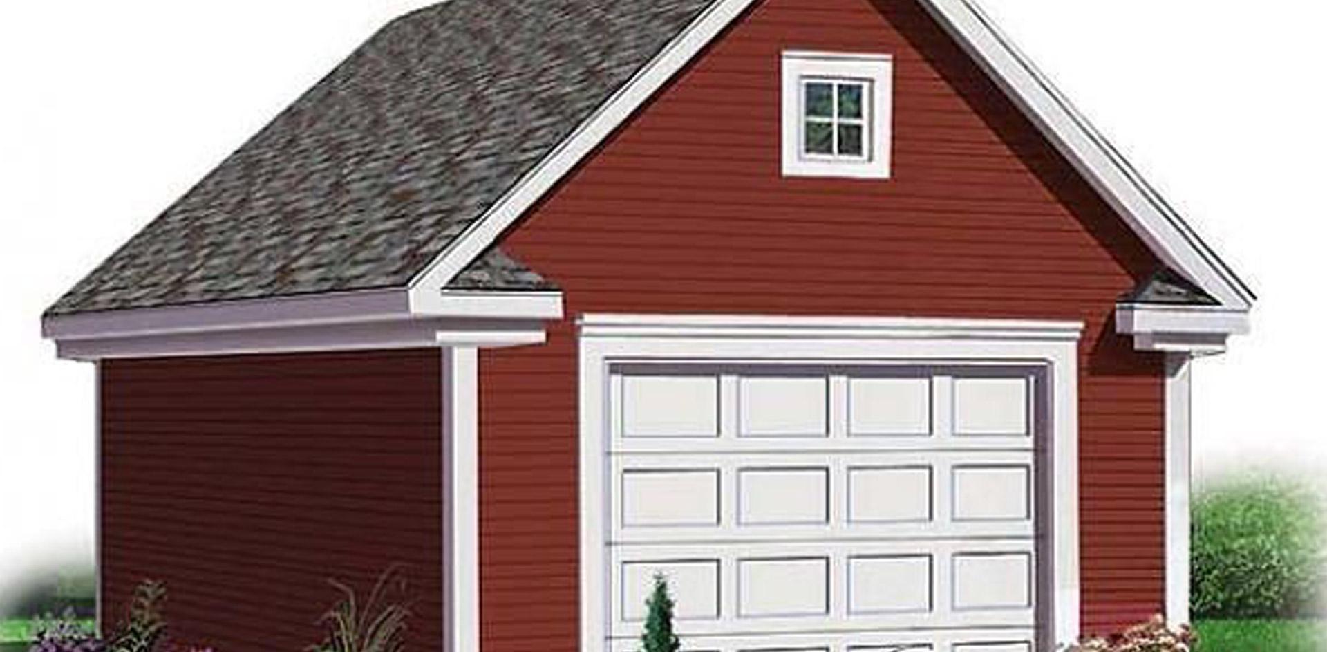 656 sq.ft. timber mart garage