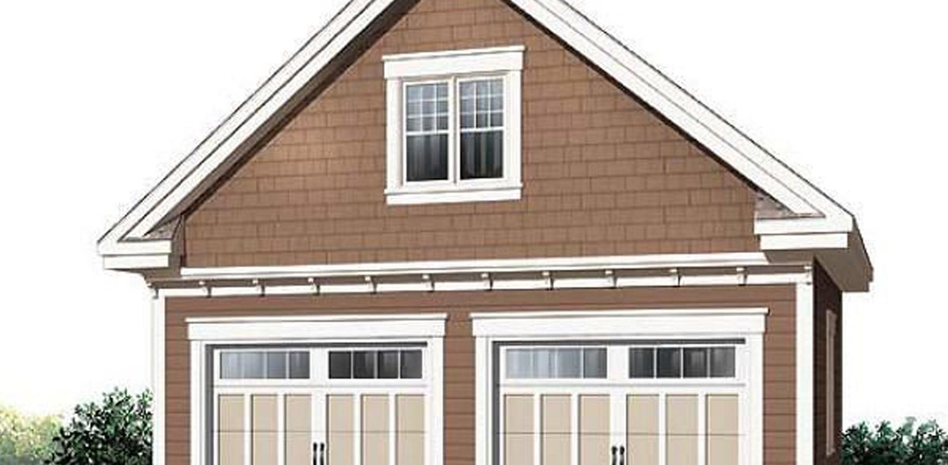 939 sq.ft. timber mart garage
