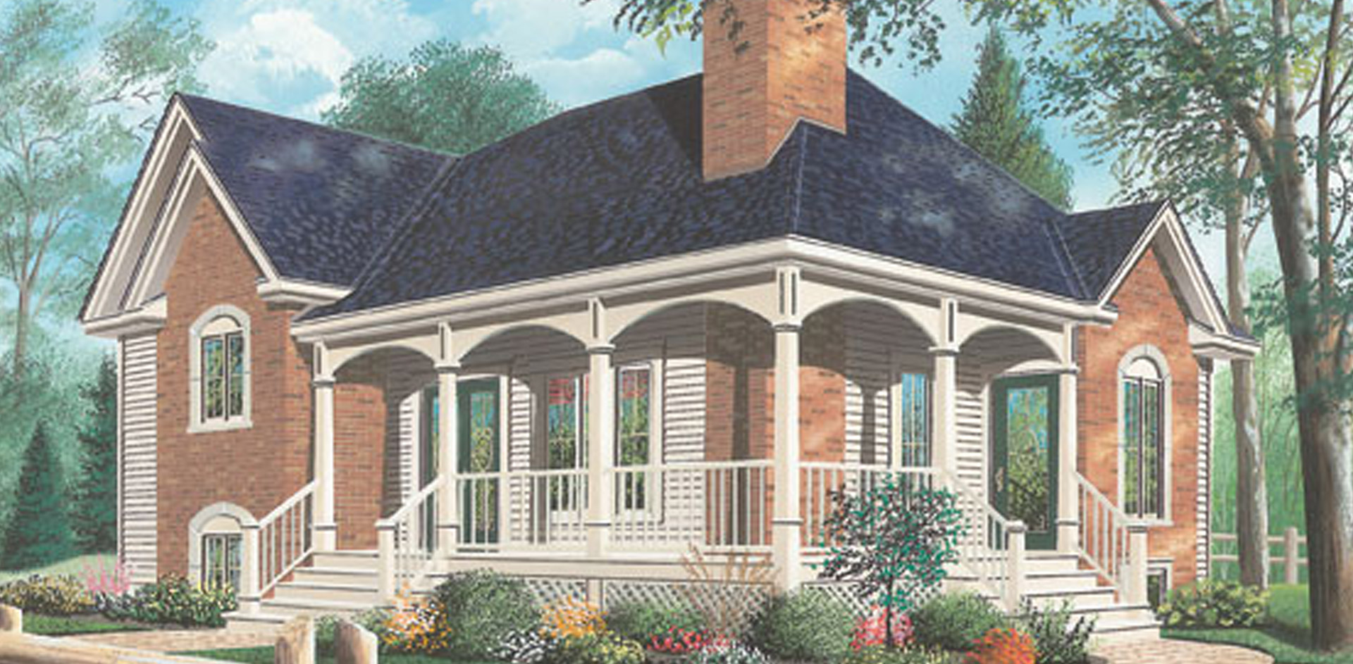1337 sq.ft. timber mart house with porch