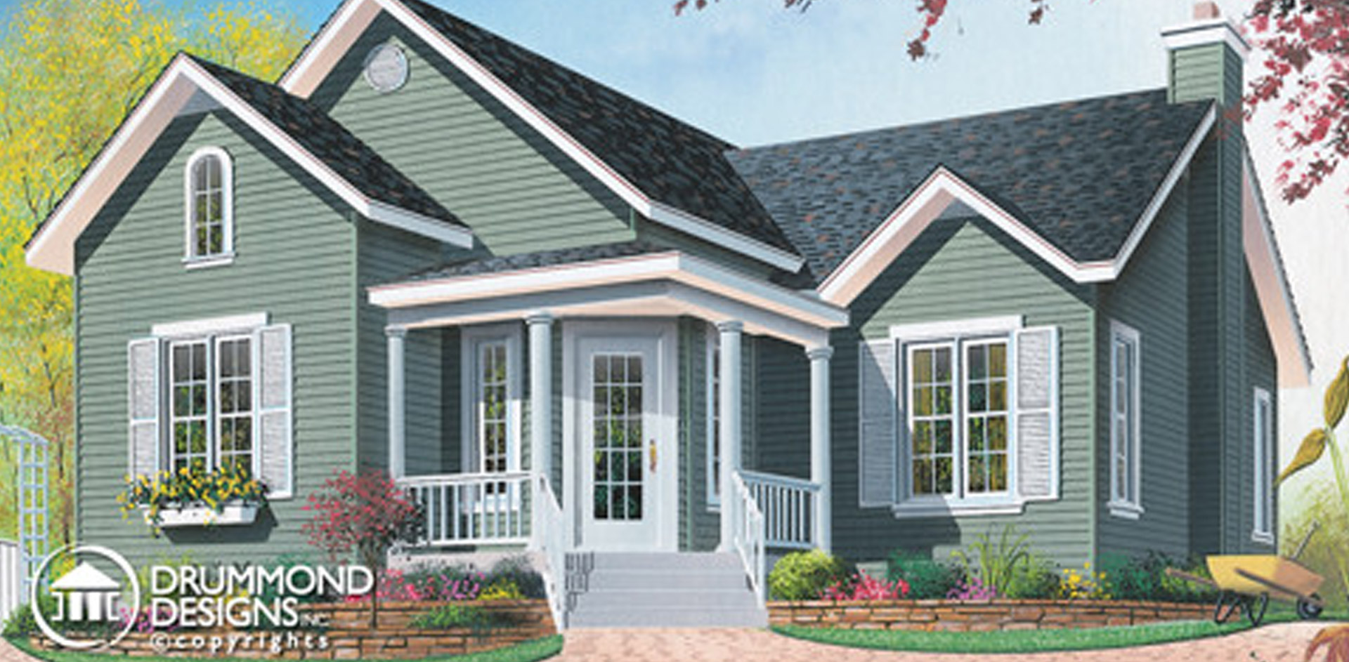 1177 sq.ft. timber mart house with two bedrooms
