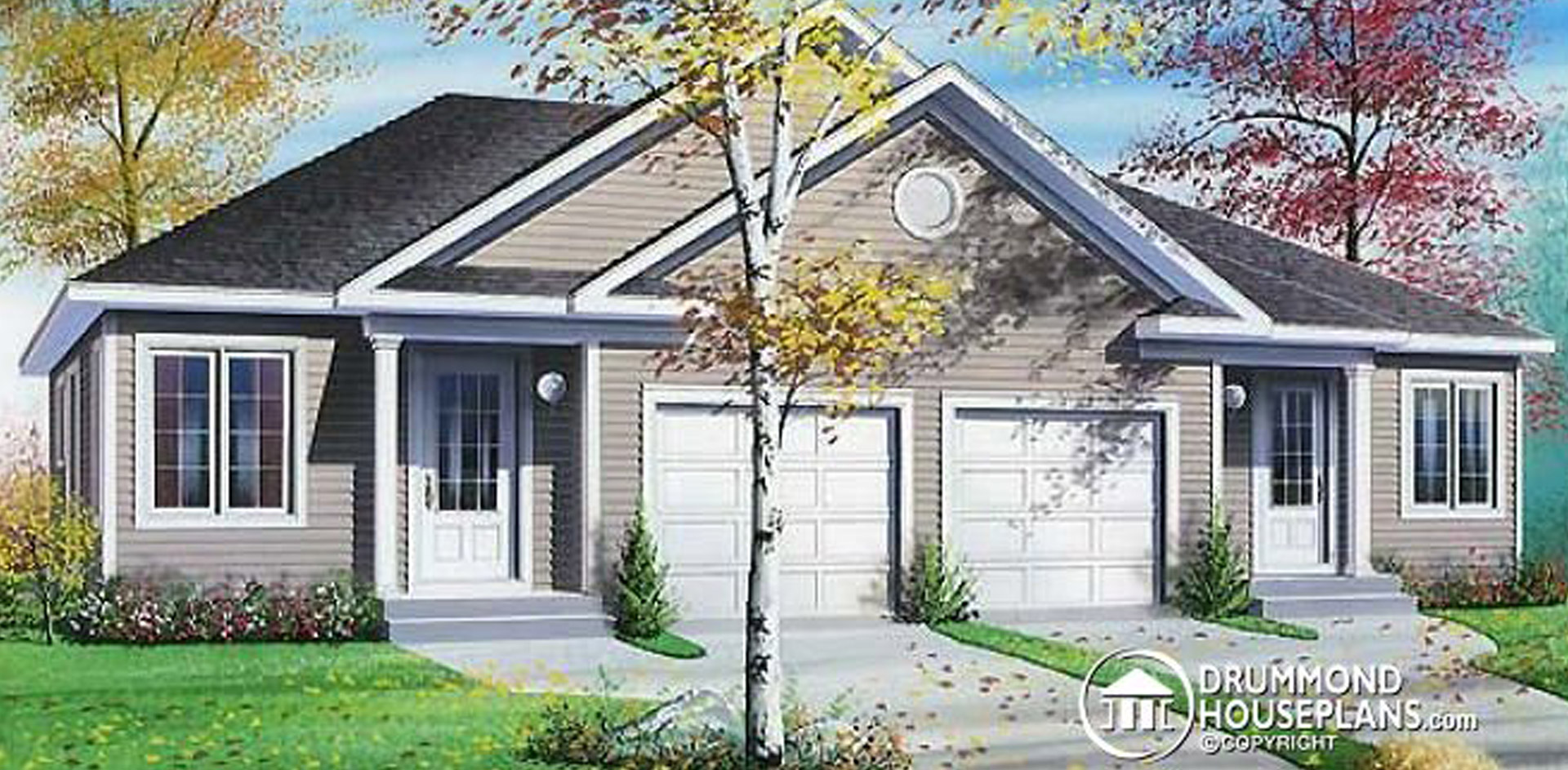1852 sq. ft timber mart two family house