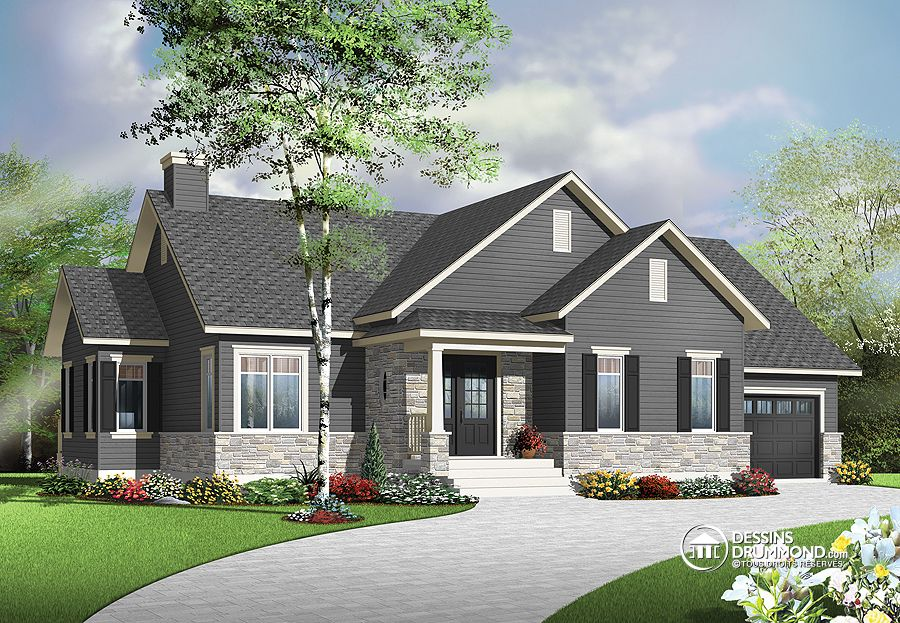 1313 sq.ft. timber mart house with garage