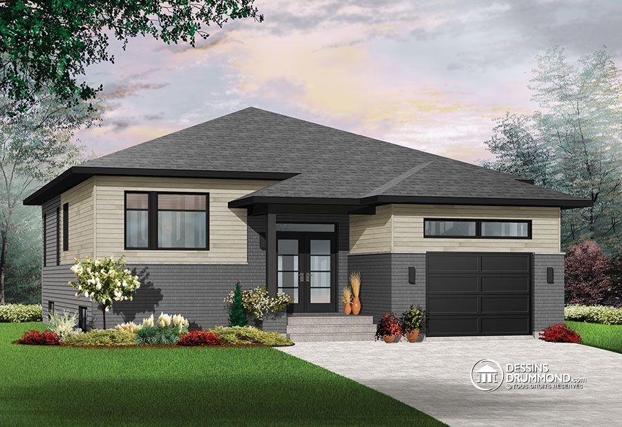 1339 sq.ft. timber mart house with garage