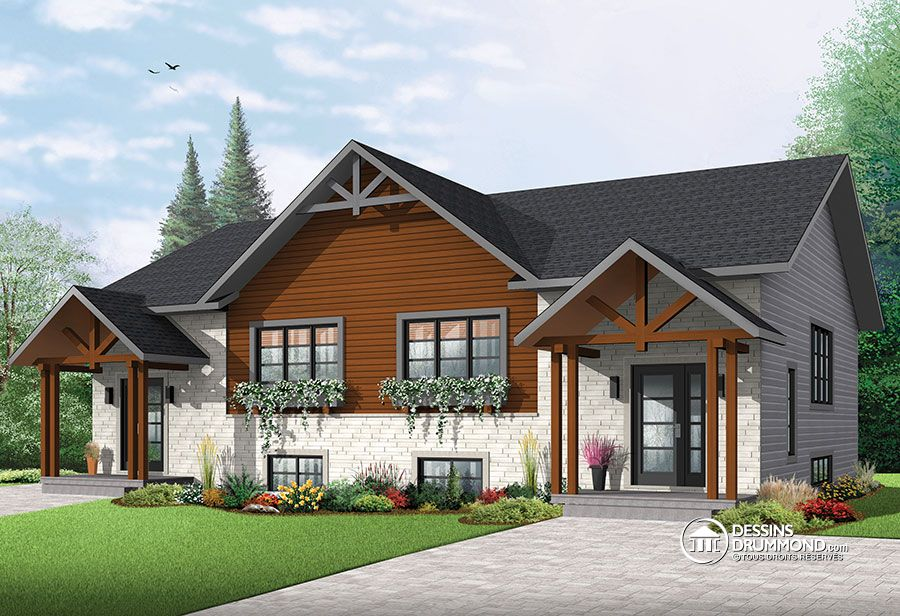 3400 sq.ft. timber mart two family house