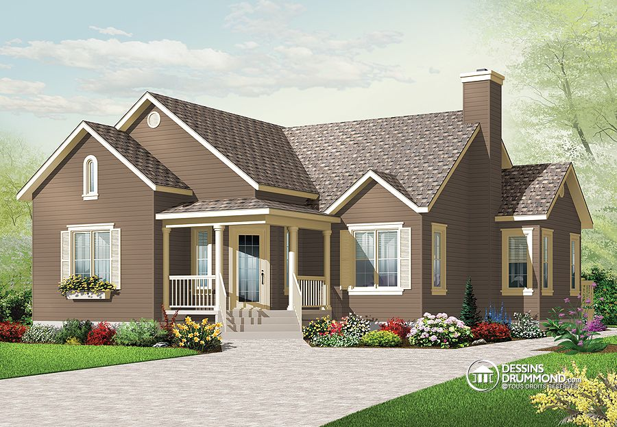 1201 sq.ft. timber mart house with porch