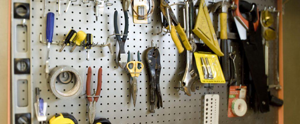 tool organization board