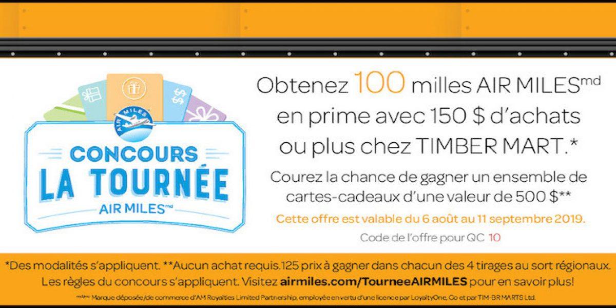 Air miles Aug Campaign CTA Fr