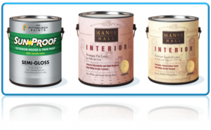 PPG paint cans