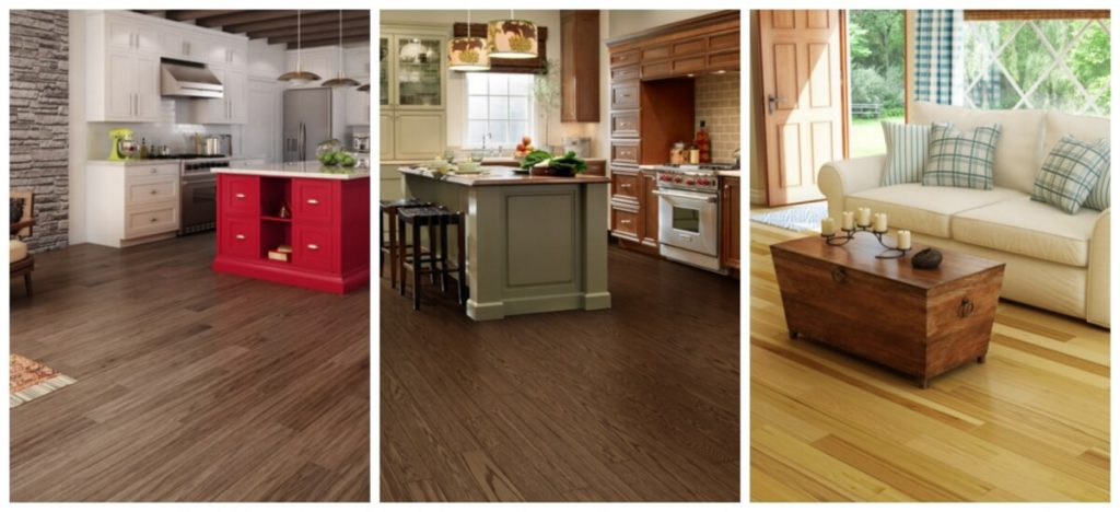 various types of flooring